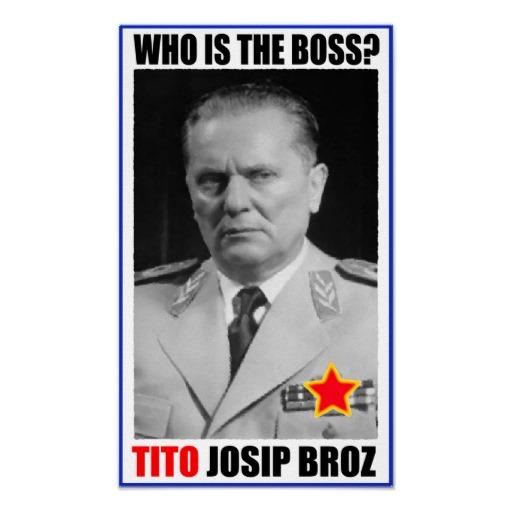 Josip Broz Tito Biografi