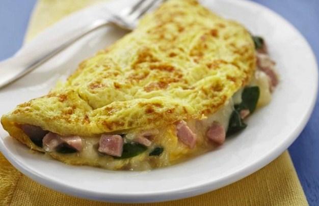 cara membuat omelet telur