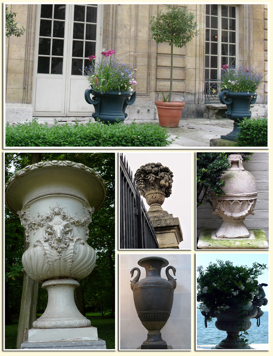 Haus Design Decorating For Spring With Urns