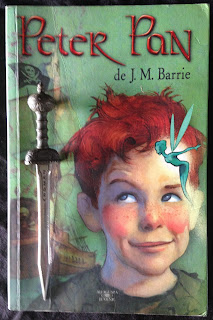 Portada del libro Peter Pan, de James Matthew Barrie