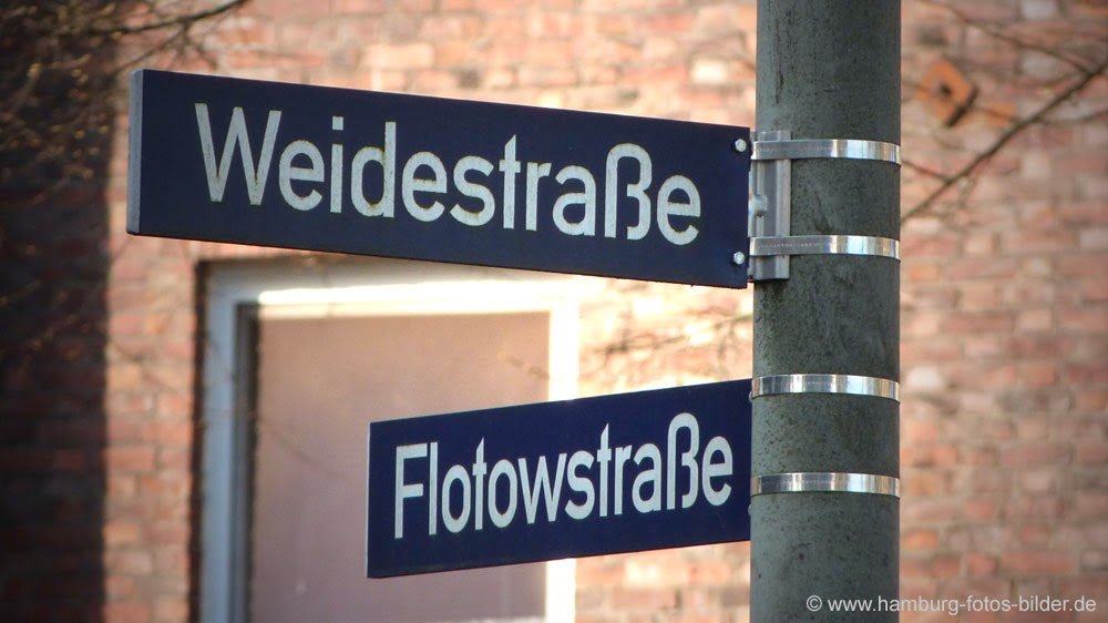 Weidestraße, Flotowstraße, Hamburg