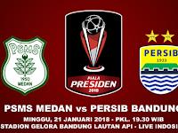 Prediksi PSMS Medan vs Persib Bandung, Piala Presiden 2018
