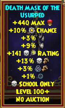 Best Death Gear (Level 120+) | Wizard101
