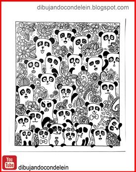 Dibujando Con Delein Como Dibujar Garabato Zentangle Art Y Pandas