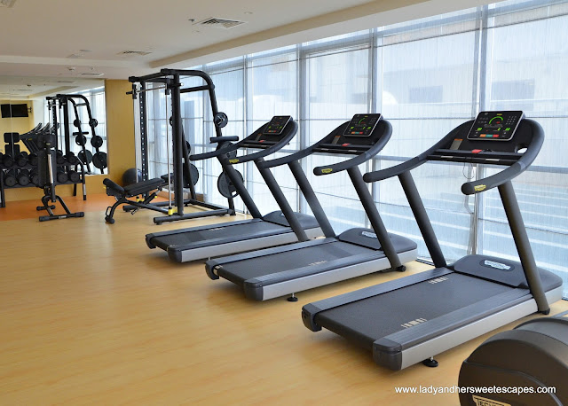 Royal Continental Hotel Dubai gym