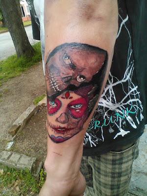 tatuaje de calaveras