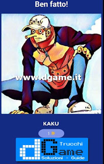Soluzioni Guess The One Piece Character livello 7