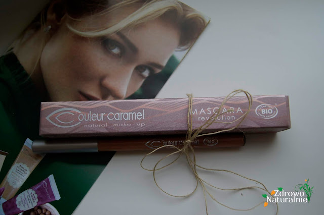 Couleur Caramel - Mascara Revolutions + Kredka 101 (czarna)