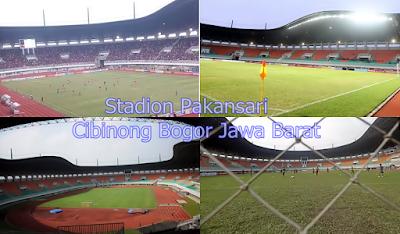 gambar Stadion Pakansari Cibinong Bogor Jawa Barat