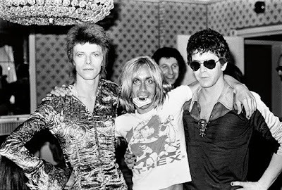 David Bowie, Iggy Pop et Lou Reed (1972)
