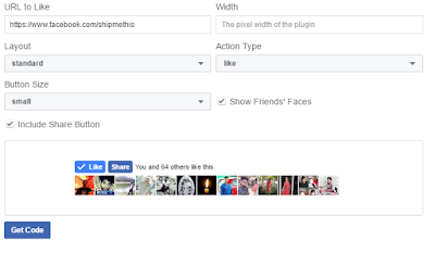 Add Facebook like Button Social Plugin to Blogspot Blog