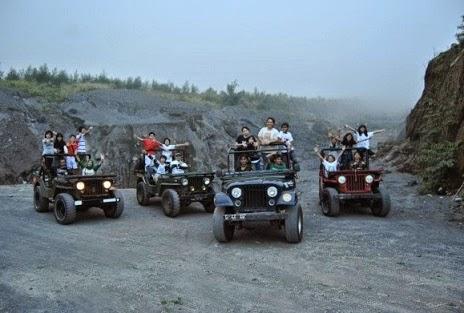 trend paket wisata gunung merapi dengan mobil jeep