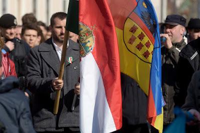 Soós Sándor, Csoma Botond, EMNP, Erdély-zászló, Fancsali Ernő, Kolozsvár, Március 15, RMDSZ