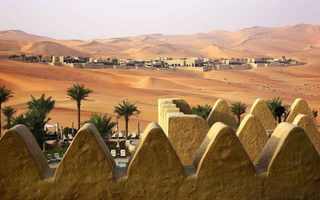 kota di padang pasir