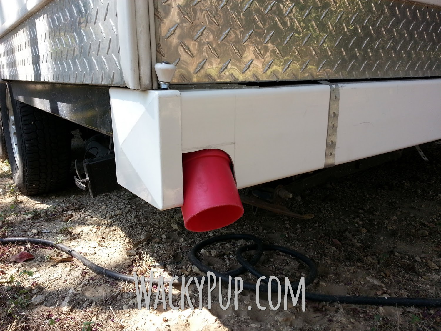 Wacky Pup How To Add A Two Compartment Sewer Hose Storage