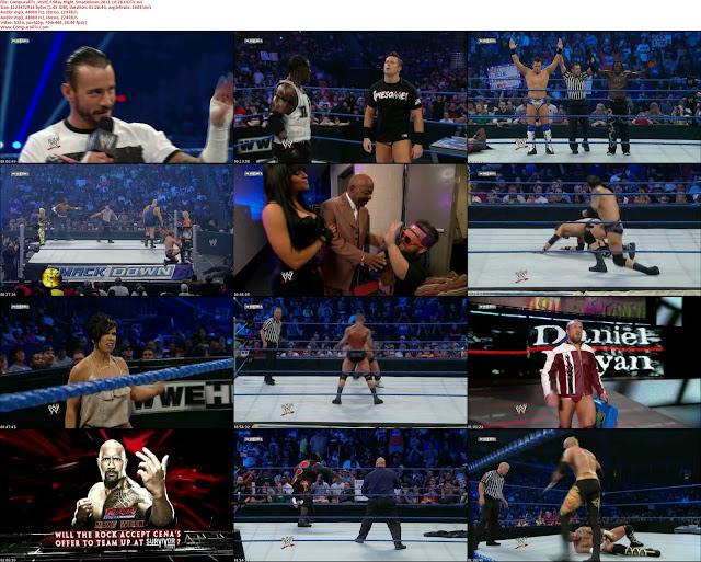 WWE Friday Night Smackdown Octubre 28-11 [HDTV] Español Latino Descargar