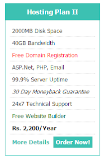 Affordable Web Hosting Package in Pakistan