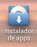 Acceso directo al instalador de apps