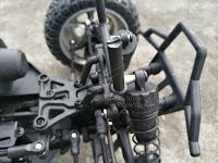 HBX 12889 Thruster Truck Front suspension