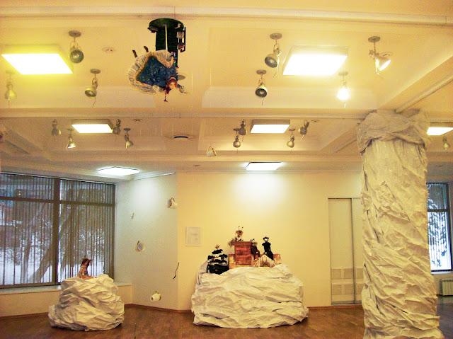 """Выставка авторской куклы в Самаре """"Куклы. Эмоции. Чувства."""",волшебный, заснеженный, но очень уютный мир"""