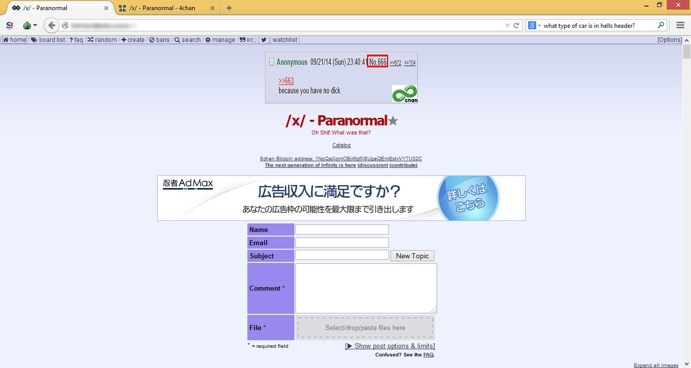 8chan Tor