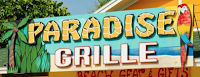 The Paradise Grille is beachside on Pass-A-Grille Beach, Florida near St. Pete Beach