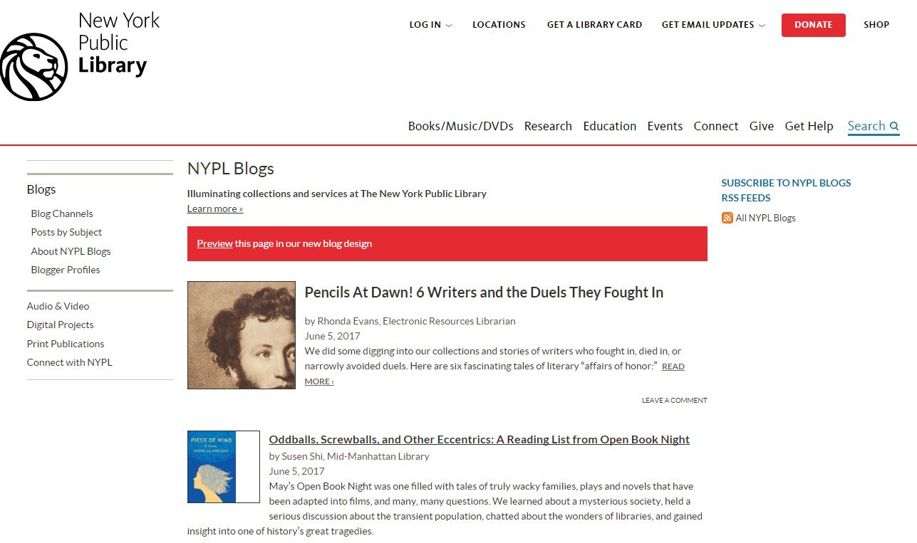 Library Myblog