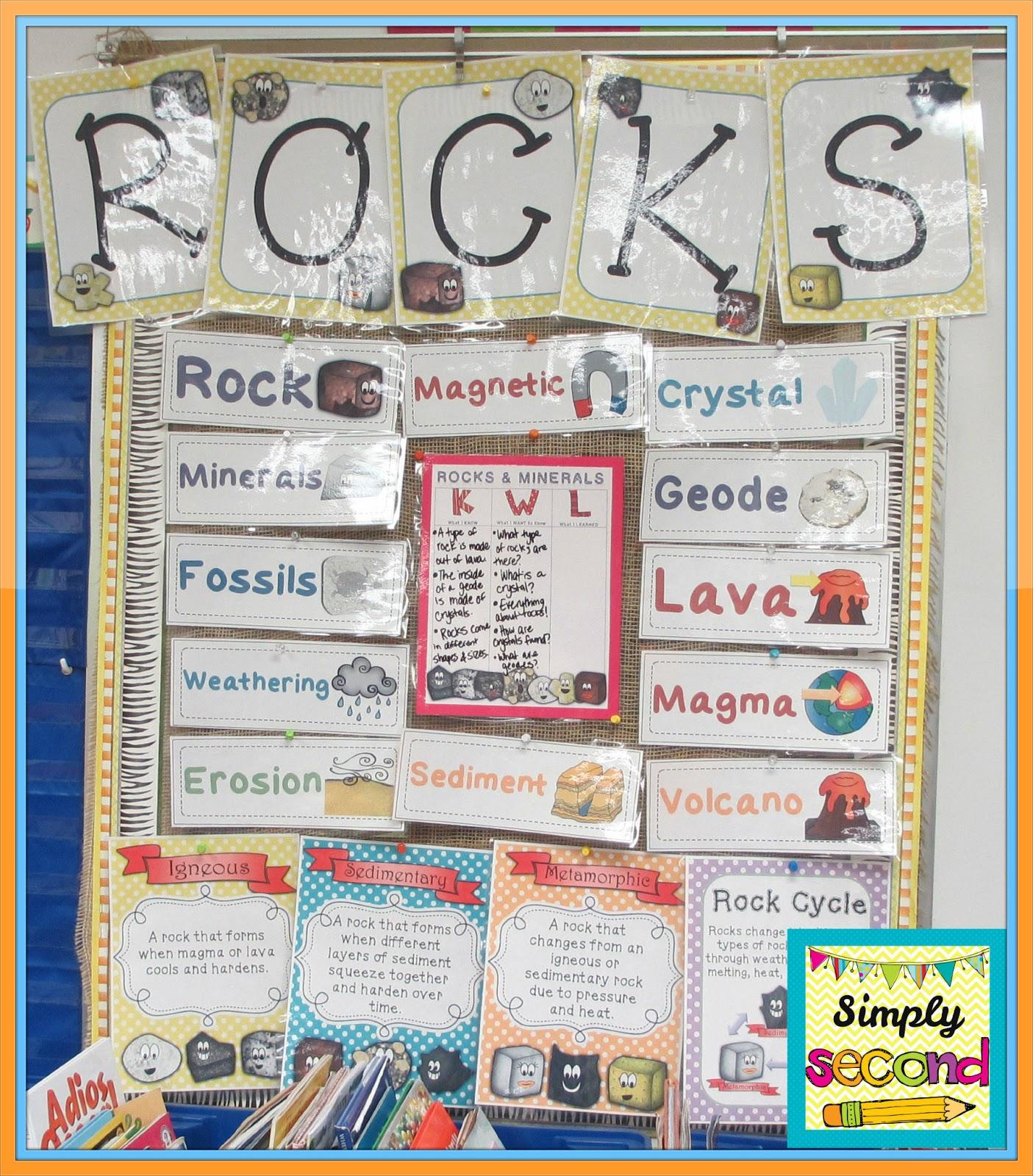 teaching with mrs hynst rocks minerals unit