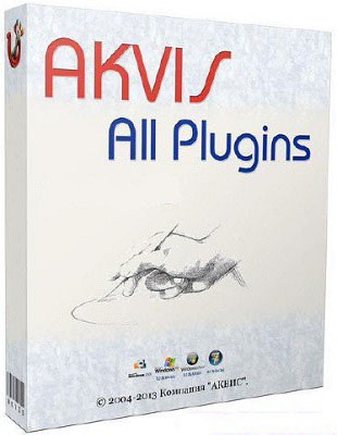 AKVIS Plugins Pack 2017.02 poster box cover