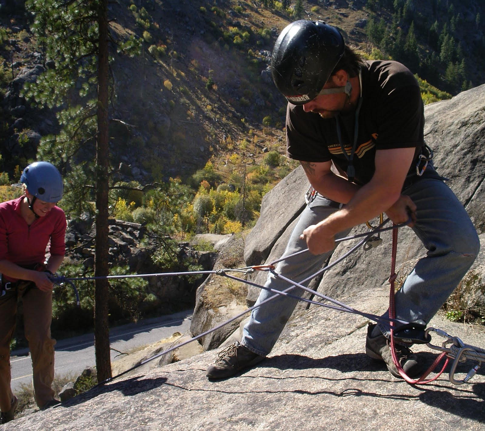 American Alpine Institute Climbing Blog 3 1 Haul With A