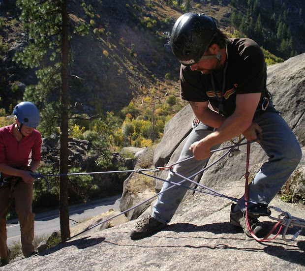 American Alpine Institute - Climbing 3 1 Haul With Grigri