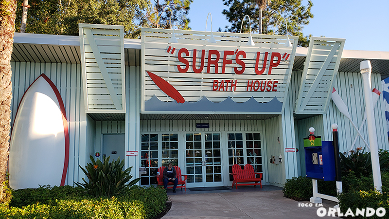 Lavanderia Surfs Up do Disney's All Star Sports
