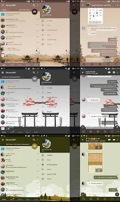 BBM MOD NAF-Chat Theme Series New Version 3.2.5.12 APK
