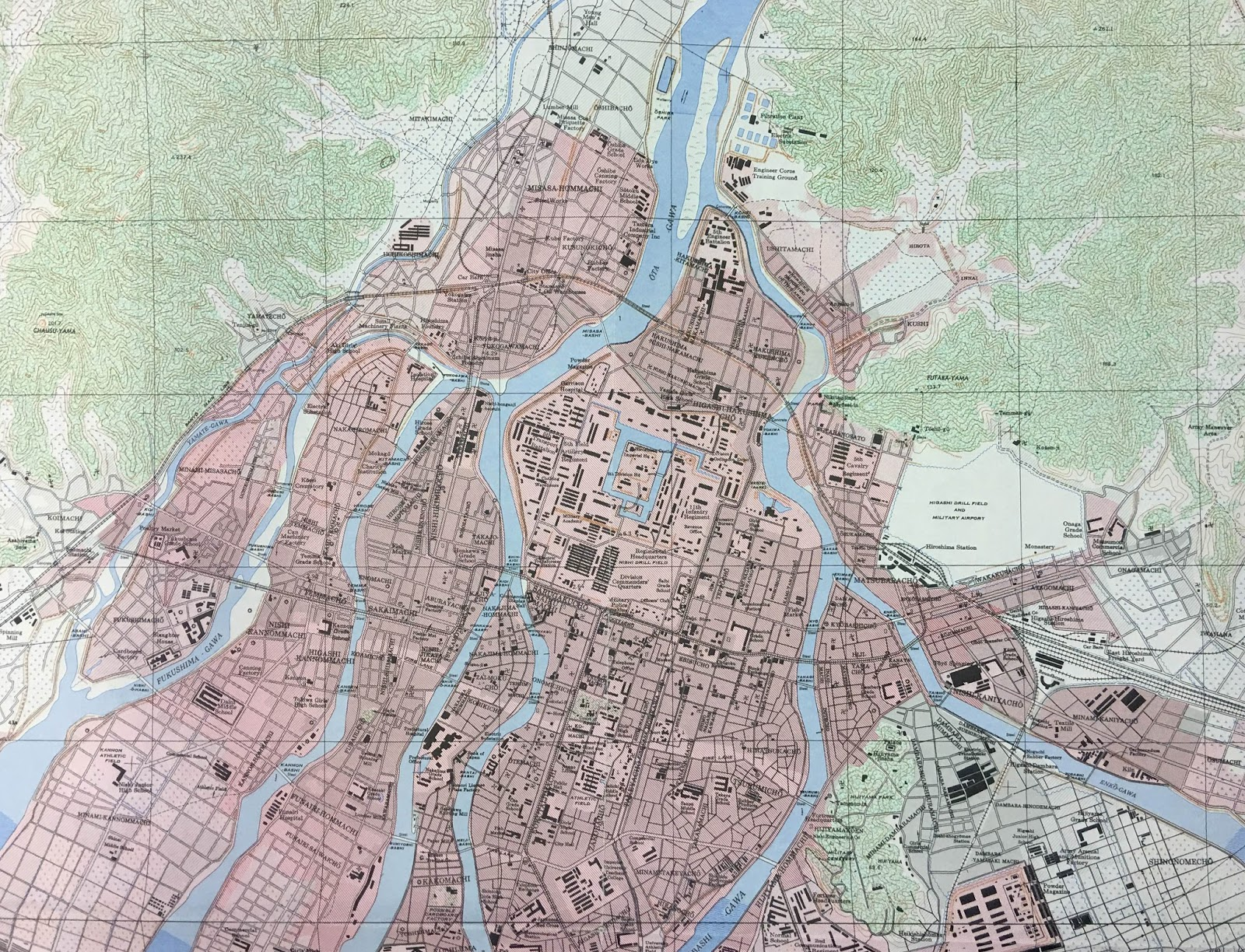 hiroshima maps available from ball state university libraries