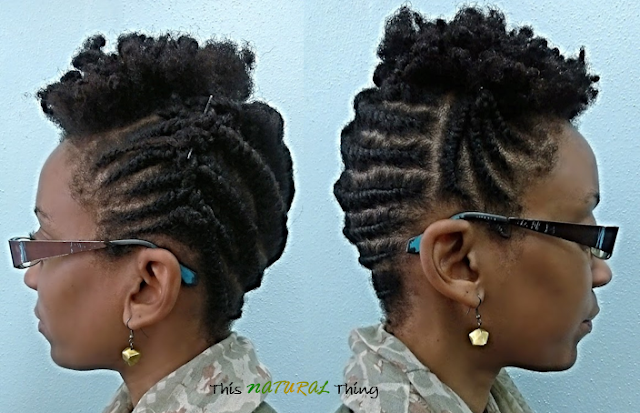 Flat Twists for All Hair Lengths