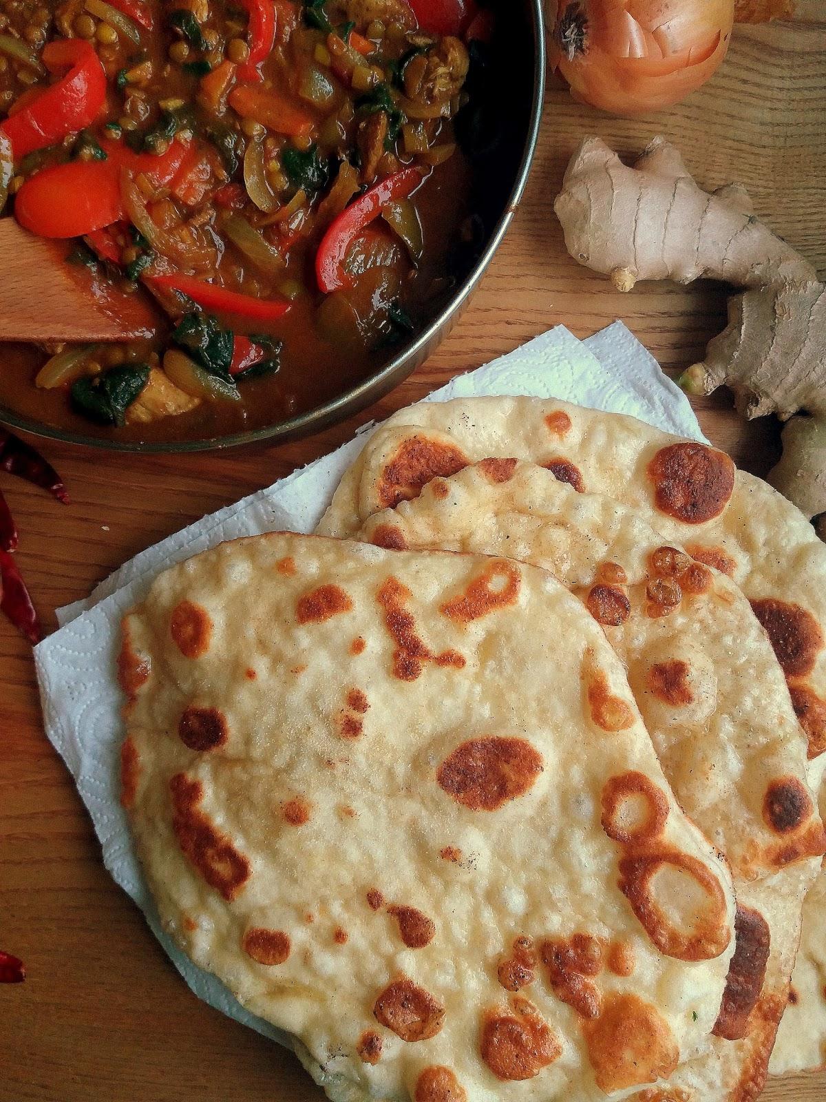 Chlebek Naan Homemade Naan Bread Lekcje W Kuchni