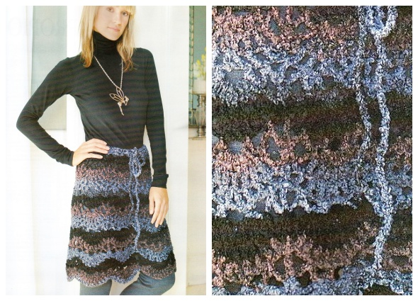 Falda pareo o pareo falda con patrones