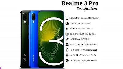Realme 3 Pro Phone Spece Highlight