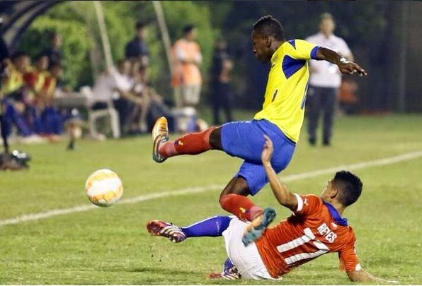 Ecuador goleó a Chile 4 a 1 en el Sudamericano Sub 17