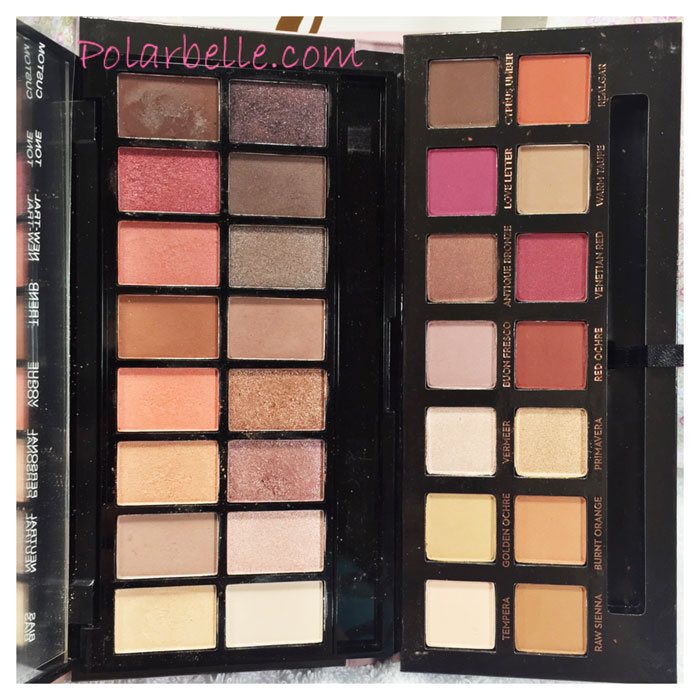 Polarbelle are makeup revolution new trals vs neutrals for Modern neutrals palette