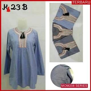 MOM208B13 Baju Atasan Hamil Prily Menyusui Bajuhamil Ibu Hamil