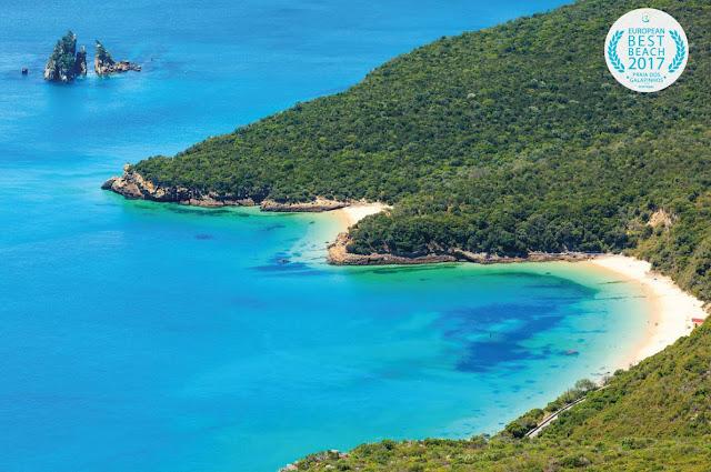European Best Beach 2017: Praia dos Galapinhos Setúbal