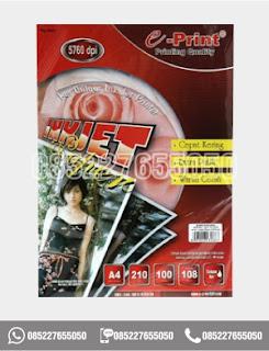 Kertas Inkjet Paper Eprint A4 108gsm, alat tulis kantor, 0852-2765-5050