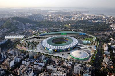 Maracana Stadium - Summer Olympics 2016 Opening Ceremony Venue