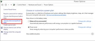 Enable Hibernate Option on Power options