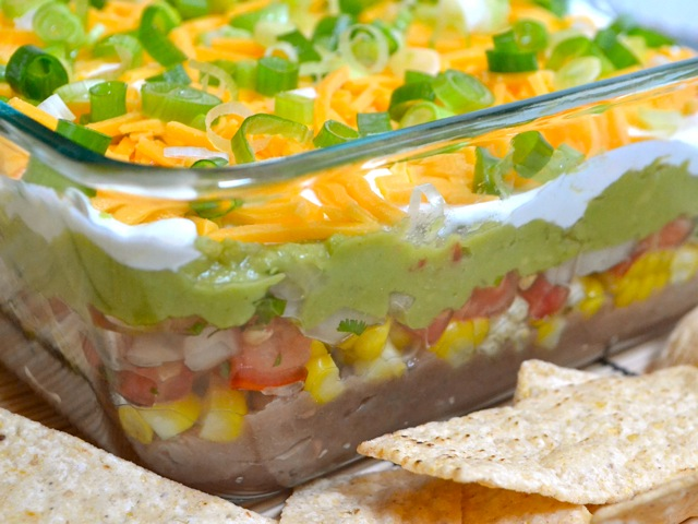How to Make Seven Layer Dip