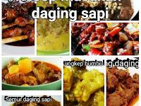 Resep mengolah daging sapi menjadi makanan lezat Idul Adha 2017