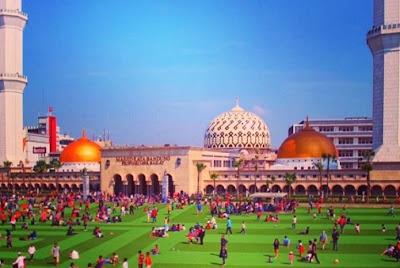 lokasi masjid raya bandung