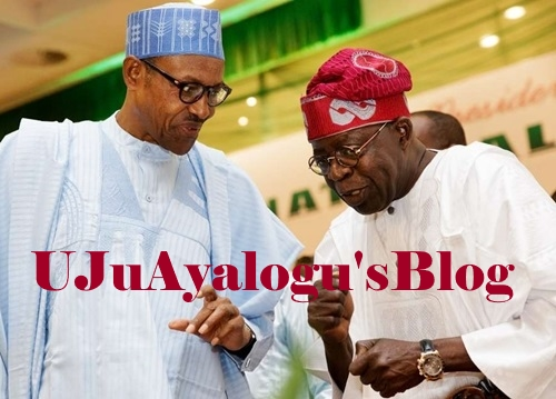 President Buhari in Closed-door Meeting with Tinubu in Aso Rock