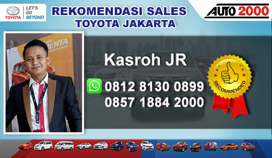 Rekomendasi Sales Toyota Rawamangun Jakarta Timur